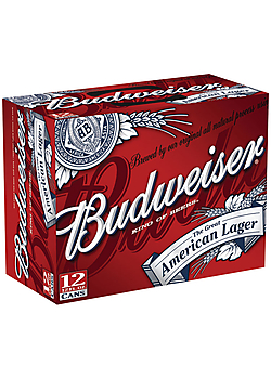 Budweiser 12OZ - 12Pack Cans/ Bottles