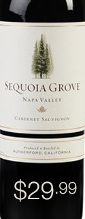 SEQUOIA GROVE CABERNET 2010 $29.99