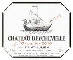 2010 Chateau Beychevelle, Saint-Julien, France