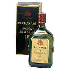 Buchanan's De Luxe 12 Year Scotch Whisky 750ml