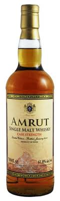 Amrut Single Malt Cask Strength -61.8% alc