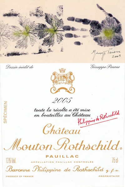 Chateau Mouton Rothschild - Pauillac 2005-Bordeaux, France