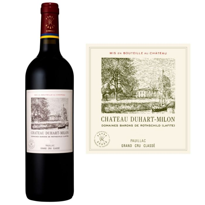 Chateau Duhart-Milon-Rothschild 2007- Pauillac, Bordeaux, France