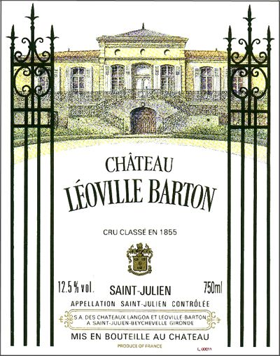 Chateau Leoville Barton, Saint-Julien, France 2008