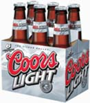 Coors Light - 12 OZ CANS / BOTTLES 6 PACK