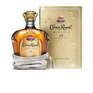 Crown Royal Monarch 75 Anniversary Blended Canadian Whisky, Canada