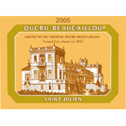 Chateau Ducru Beaucaillou 2005 St-Julien, Bordeaux, France