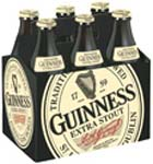 GUINESS STOUT - 6PACK BOTTLES
