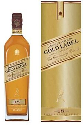 Johnnie Walker Gold 18 yrs- 750Ml