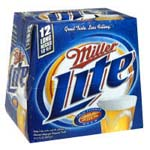 Miller Lite - 12OZ CANS/BOTTLES- 12PACK